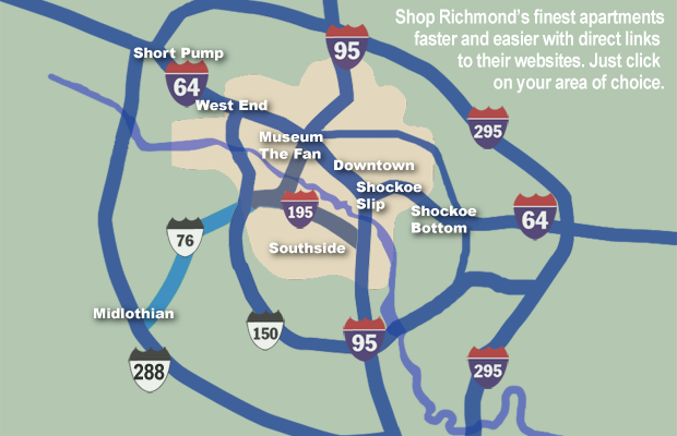 richmond apartment map